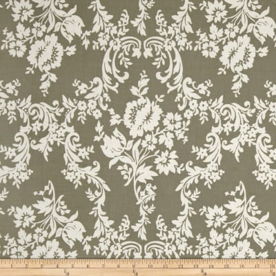 Riley Blake Lost and Found 2 Damask Grey
