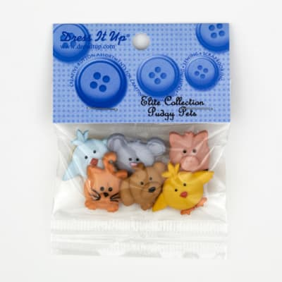 Dress It Up Embellishment Buttons  Pudgy Pets