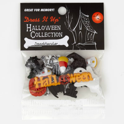 Dress It Up Embellishment Buttons  Spooktacular