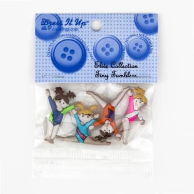 Dress It Up Embellishment Buttons  Tiny Tumblers