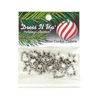 Dress It Up Embellishment Buttons  Mini Cookie Cutters