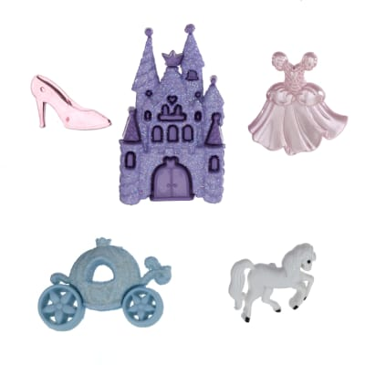 Dress It Up Embellishment Buttons Happily Ever After