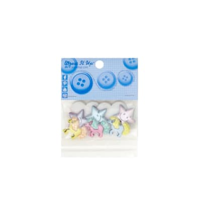 Dress It Up Embellisment Buttons  Pony Tales