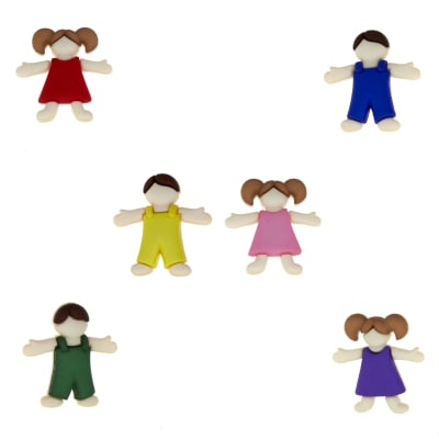 Dress It Up Embellishment Buttons  Kids