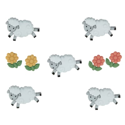 Dress It Up Embellishment Buttons  Counting Sheep