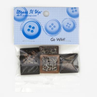 Dress It Up Embellishment Buttons  Go Wild