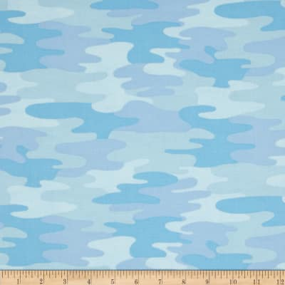 Camo Light Blue