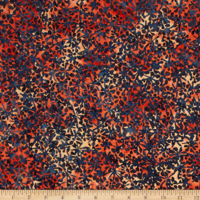 Bali Batiks Handpaints Abstract Floral July