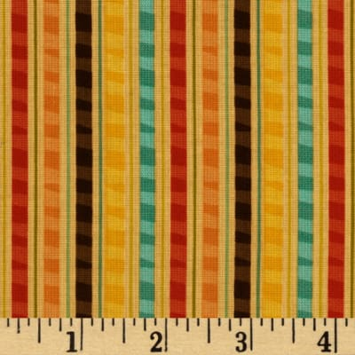 Riley Blake Giraffe Crossing Giraffe Stripe Orange