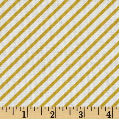 Riley Blake Unforgettable Wallpapers Stripe Yellow