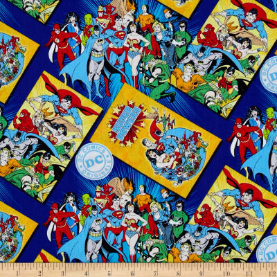 DC Comics Immortals Comic Book Covers Blue