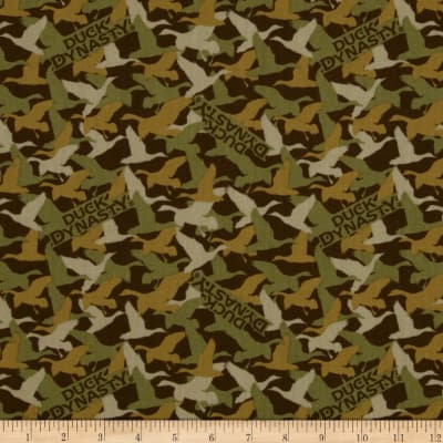 Duck Dynasty Duck Camo Brown