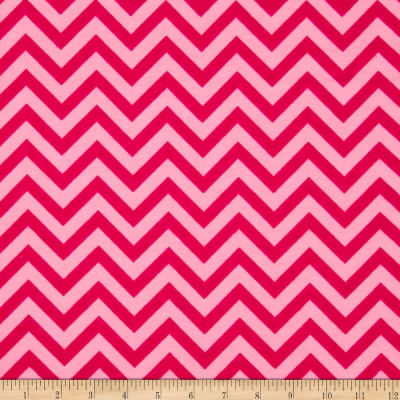 Flannel Chevron Love Pink