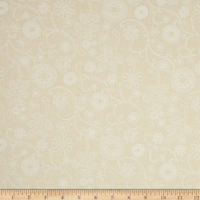 """Westrade 110"""" Wide Quilt Back Signature Ivory"""