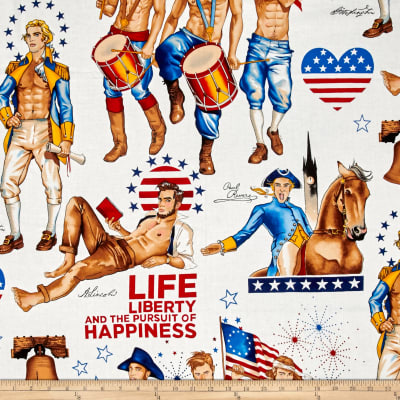 Love, Luck, & Liberty Just Us for All Pinup Guys Bright