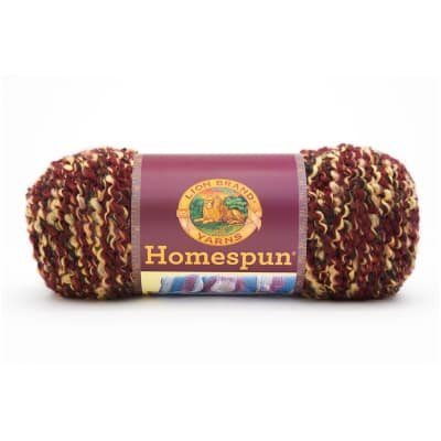 Lion Brand Homespun Yarn 603 Barks