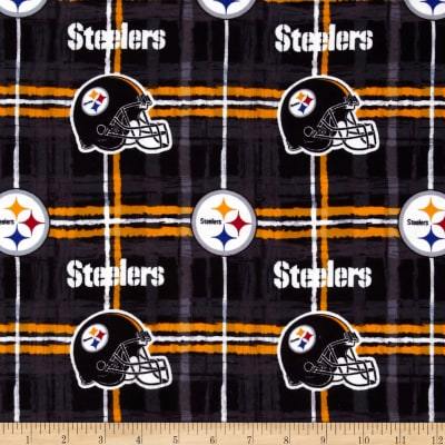 NFL Flannel Pittsburgh Steelers Yellow/Black