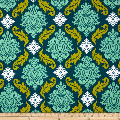 Joel Dewberry True Colors Damask Turquoise