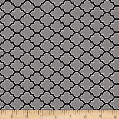 Joel Dewberry True Colors Lodge Lattice Grey