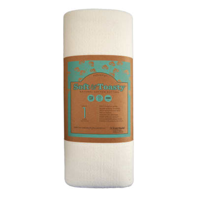 Soft 'N Toasty Natural Cotton Batting 5YD Bundle