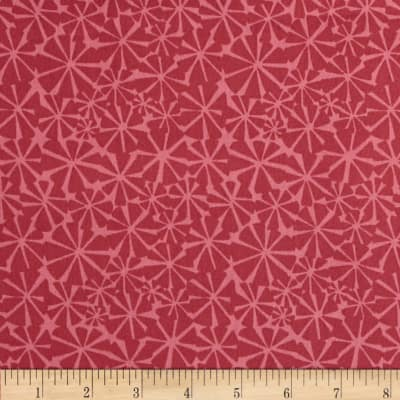 Dazzle Kaleidescope Red