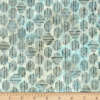 Bali Batiks Handpaint Striped Hexagon Spa