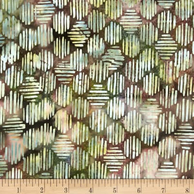 Bali Batiks Handpaint Striped Hexagon Neapolitan