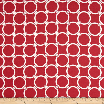Premier Prints Linked Carmine Red
