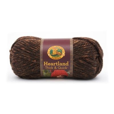 Lion Brand Heartland Thick & Quick Yarn Sequoia