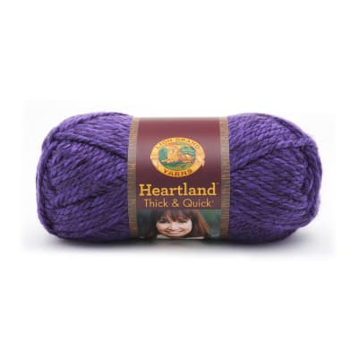 Lion Brand Heartland Thick & Quick Yarn Hot Springs