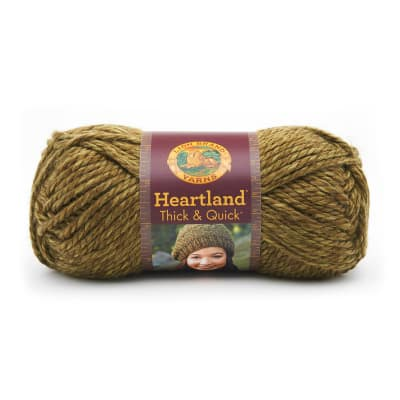 Lion Brand Heartland Thick & Quick Yarn Joshua Tree