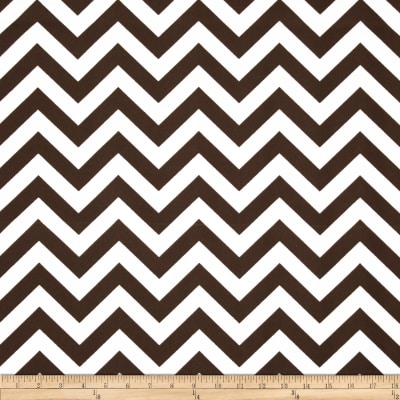 Premier Prints Indoor/Outdoor Zig Zag Bay Brown
