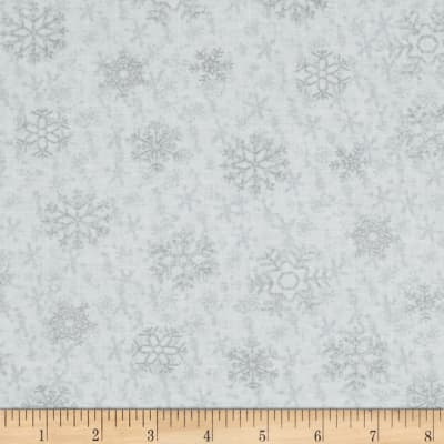 Snow Daze Snowflake White