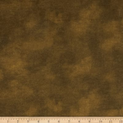"108"" Wide Flannel Mottled Chocolate"
