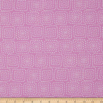 Michael Miller Stitch Square Orchid