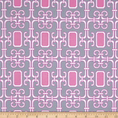 Michael Miller Pastel Pop It's A Girl Thing Flannel Lauren Orchid