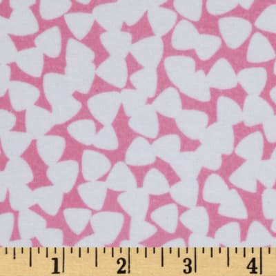 Michael Miller Pastel Pop It's A Girl Thing Flannel Tiny Guitar Picks Orchid