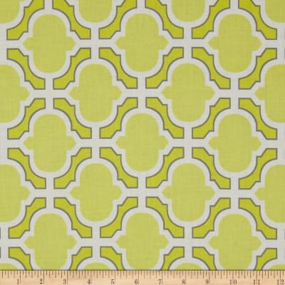 Michael Miller Pastel Pop Citron Grey Heather Citron