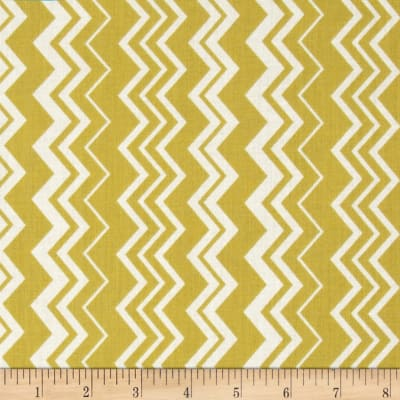 Modern Folkloric Chevron Yellow