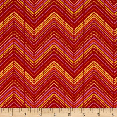 Sweet Tweet Zig Zag Red