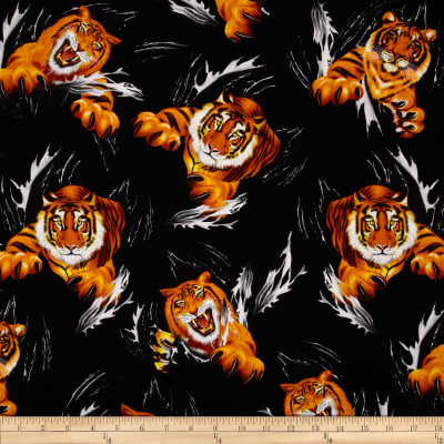 Timeless Treasures Tiger Multi