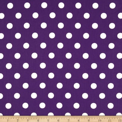 Moda Dottie Medium Dots Purple