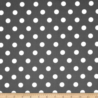 Moda Dottie Medium Dots Graphite