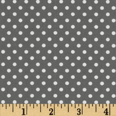 Moda Dottie Small Dots Graphite