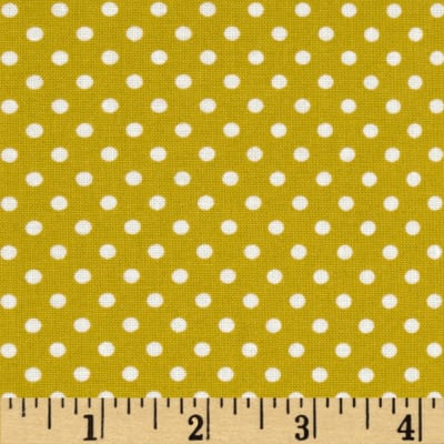 Moda Dottie Small Dots Maize