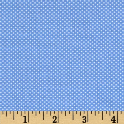 Moda Dottie Tiny Dots Sky Blue