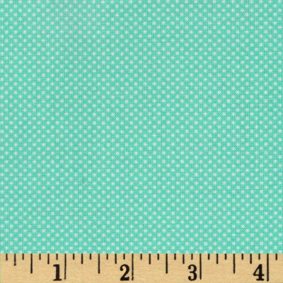 Moda Dottie Tiny Dots Aqua