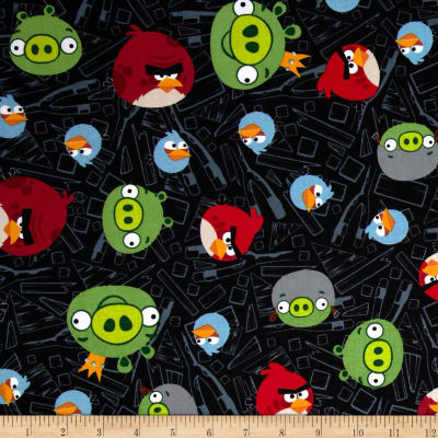 Angry Birds Tossed Black