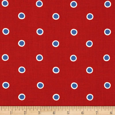Fox Playground Dots Red