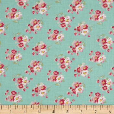 Tanya Whelan Rosey Cherry Blossom Teal